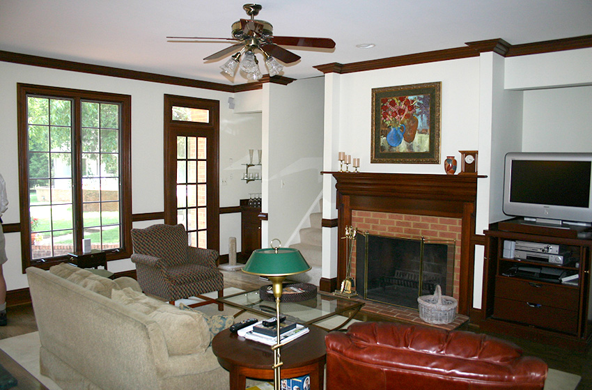 Updating The 1980s Brick Colonial In Mclean Remodeling
