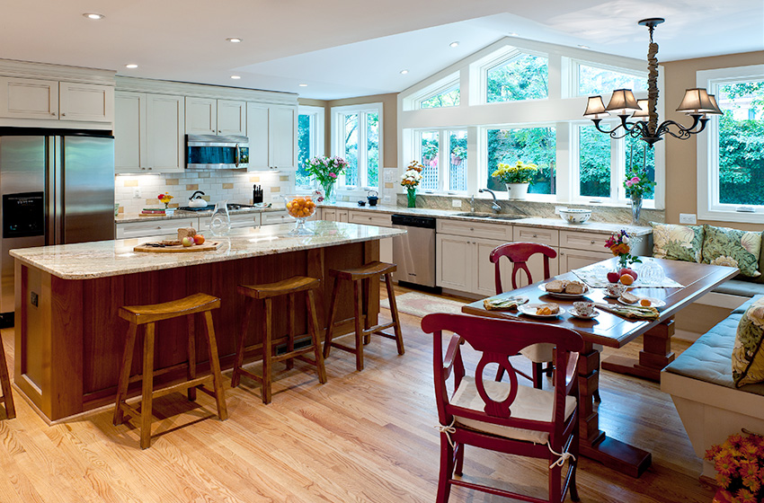 Awesome Making The Brick Colonial Kitchen In Mclean Better Download Free Architecture Designs Scobabritishbridgeorg