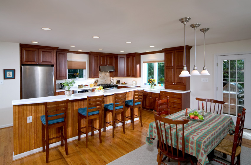 Extrememakeover after fullkitchen remodeling company for Extreme kitchen designs