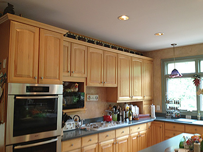 Kitchen Remodelers In Northern Virginia. Before Kitchen Work Area