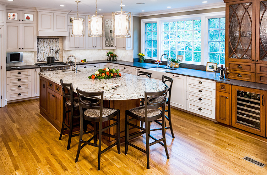 Out of the dark kitchen remodeling northern va - Kitchen cabinets northern virginia ...