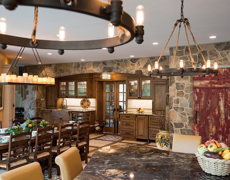 Remodeling Project Profile Italy Inspired Kitchen Remodel
