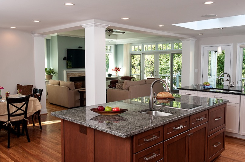 kitchen remodeling northern virginia better circulation for kitchen remodel project profile - Kitchen Cabinets Northern Virginia
