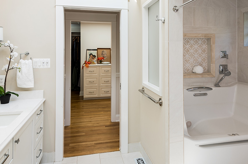 Northern Virginia Home Addition After Bathroom View Remodeling Company Northern Va Bowers