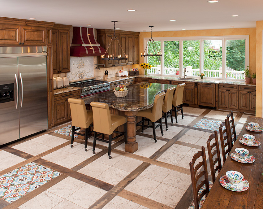 Kitchen Remodeling Northern Va Italy Inspired Remodel