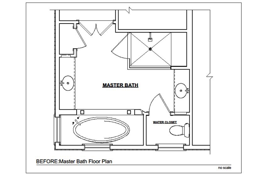 Master Bathroom Renovation In Oakton Remodeling Northern Va